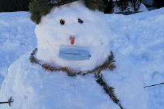 COVID-snowmen